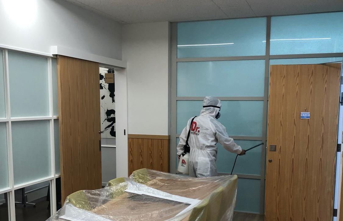 専門業者による「除菌・抗菌・抗ウィルス」施工